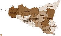 mappa SICILIA cartina