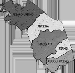 cartina MARCHE