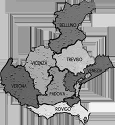 cartina VENETO