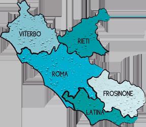 Cartina Lazio.Lazio Acque Minerali Marchi Elenco Marche