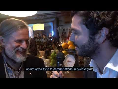 Jared Brown di Sipsmith Gin - Milano 11/11/18 evento OnestiGroup