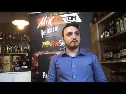 Umberto Oliva vincitore IV Edizione di MixFactor Relicario Experience