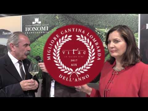 Lucia Paladin - Fiorenzo Detti intervista Castello Bonomi Vinitaly 2017
