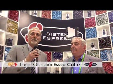 Luca Gandini Essse Caffè Gandini Venditalia 2016 intervista Beverfood.com