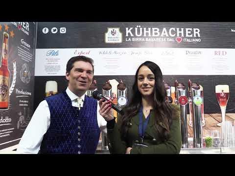Umberto Beck Peccoz di Kuhbacher intervista a Beer Attraction 2018