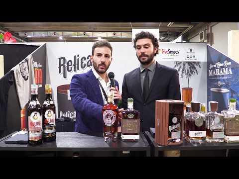 Armando Follari di Mavi Drink presenta Ron Canuto e Ron Jungla al The Rum Day 2018