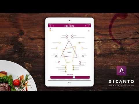 Decanto - l'App per abbinare cibo e vino per iPhone ed iPad