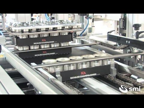 SK 800 T ERGON shrinkwrapper - DV 200 divider
