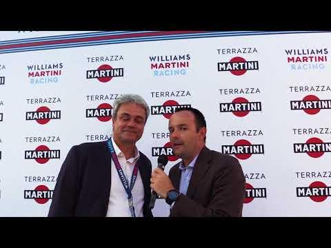 Marco Alberizzi di country manager Martini - Terrazza Martini – William Martini Racing