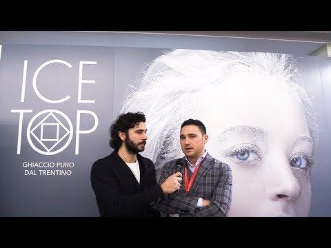 Matteo Colombi presenta Ice Top - Ghiaccio Puro dal Trentino