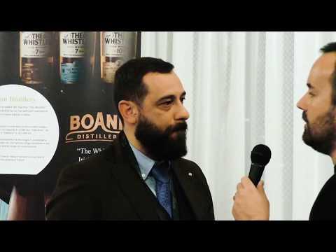 Dario Crisci di Cuzziol - Milano Whisky Festival 2019 - Filey Bay - The Whistler