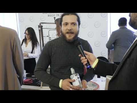 Eugenio Belli di Eugin Distilleria Indipendente al Milano White Spirits Festival 2020