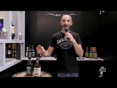 Stefano Righetti presenta Jack Daniel's Tennessee Rye al Roma Bar show