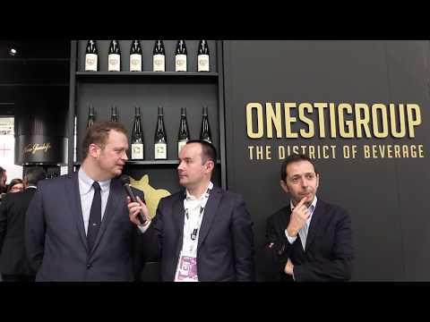 Andrea Onesti e Nicola Carlevaris di OnestiGroup a Vinitaly 2018