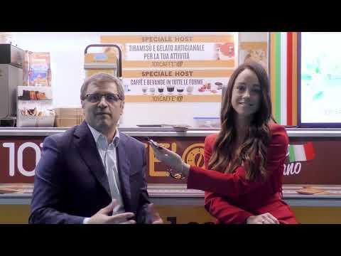 Intervista al CEO Umberto Gonnella di 101Caffè a Host 2019