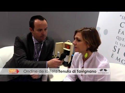 Ondine de la Feld Tenuta di Tavignano Vinitaly 2016 Intervista Beverfood.com