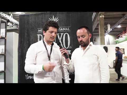 Andrea Fanti di OnestiGroup persenta Bruxo Mezcal ad Agave Eperience 2018