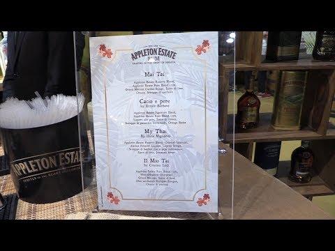 Stand di Appleton Estate al The Rum Day 2018 - 3 twist di Mai Tai