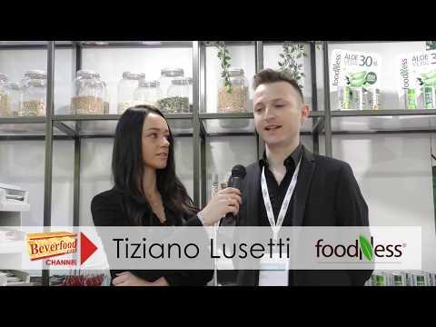 Tiziano Lusetti di Foodness a TuttoFood 2019