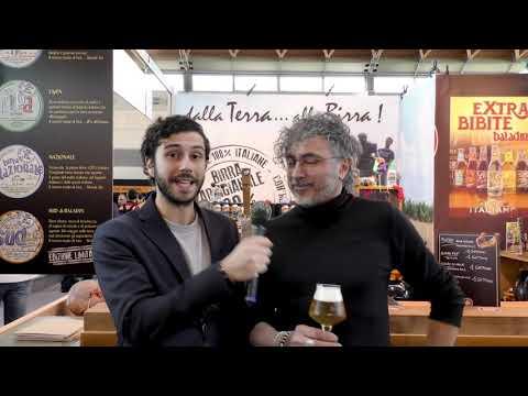 Teo Musso di Baladin al Beer&Food Attraction 2020