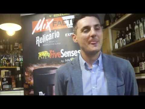 Gerard Ruiz Brand Ambassador Relicario Ron - MixFactor IV Edizione