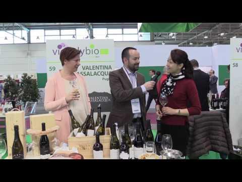 Valentina Passalacqua intervista Vinitaly Bio 2017