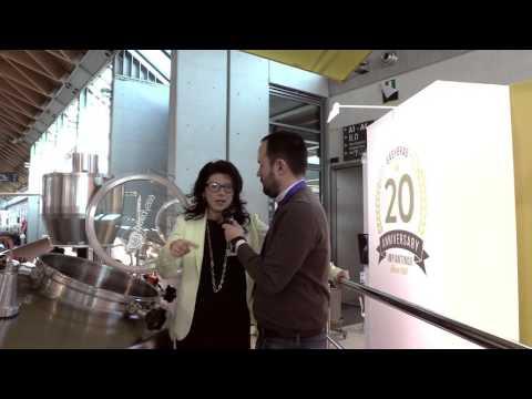 Easy Brau Impiantinox - Emma Mion intervista a Beer Attraction