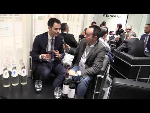 Alessandro Lunelli Tenute Lunelli, Surgiva a Vinitaly 2016 intervista Beverfood.com
