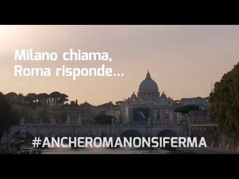 #AncheRomaNonSiFerma