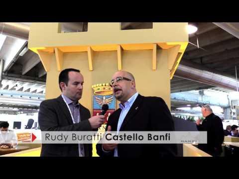 Rudy Buratti Castello Banfi Vinitaly 2016 intervista Beverfood.com
