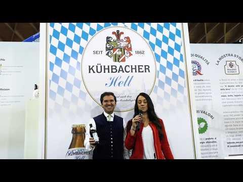 Umberto Beck Peccoz presenta la Kuhbacher Hell a Beer Attraction 2019