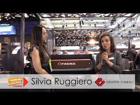 Gruppo Cimbali - Faema - Silvia Ruggiero intervista a Host 2017