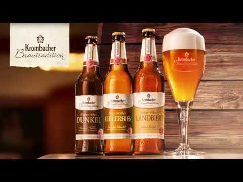 """Krombacher Brautradition """"Naturtrübes Landbier"""" Werbespot Juni 2019 (15 sek."""