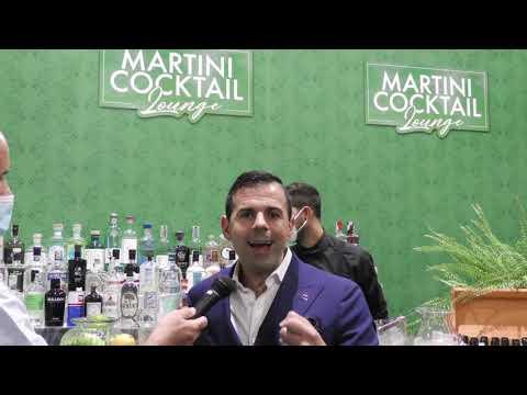 Ago Perrone del Connaught Bar di Londra (1° World's 50 Best Bars 2020) al theGINday 2021