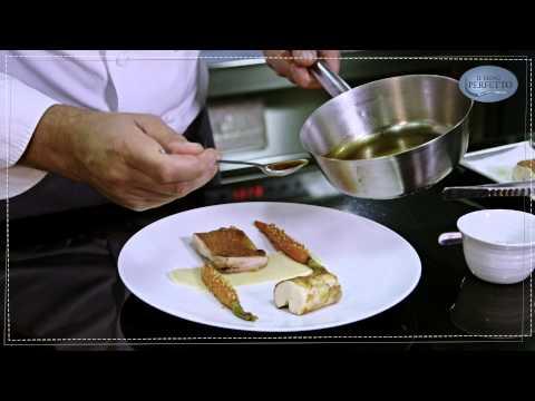 Il menù perfetto // Petto e coscia di pollo con purè di patate alla birra e carota alla nocciola