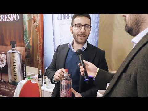 Armando Follari di Mavi Drink / Five Senses al Milano White Spirits Festival 2020