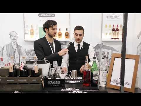"""Flavio Cesari di Nardini - Grappa Mixology - Ricetta cocktail """"Bortolo Negroni"""""""
