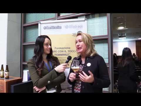 Elvira Ackermann, presidente Le Donne della Birra a Beer Attraction 2018