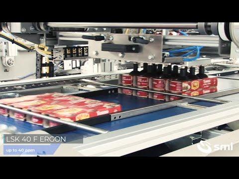 LSK 40 F ERGON packer with pack stacker
