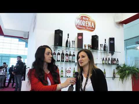 Elvira Gammarota, mastro birraio di Birra Morena a Beer Attraction 2019