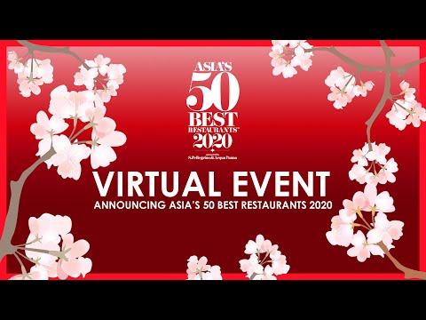 Asia's 50 Best Restaurants 2020 - Virtual Event Live