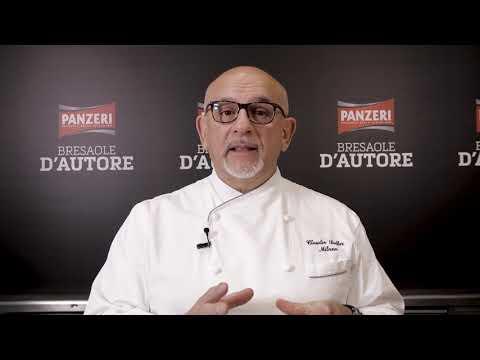 Lo Chef Claudio Sadler presenta le Bresaole d'Autore Panzeri