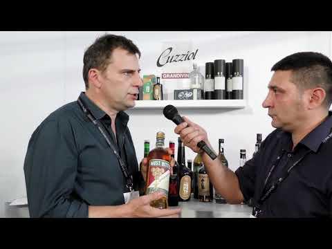 Alfredo Sconfidenza di La Canellese - stand Cuzziol al Roma Bar Show