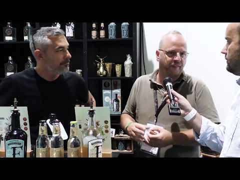 Jacques Zwartjes di OnestiGroup e Tobias Bur di Ferdinand's Gin al TheGINDay 2019