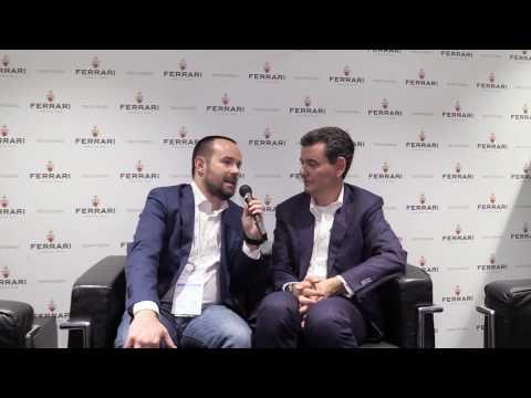 Marcello Lunelli - Ferrari Trento DOC intervista a Vinitaly