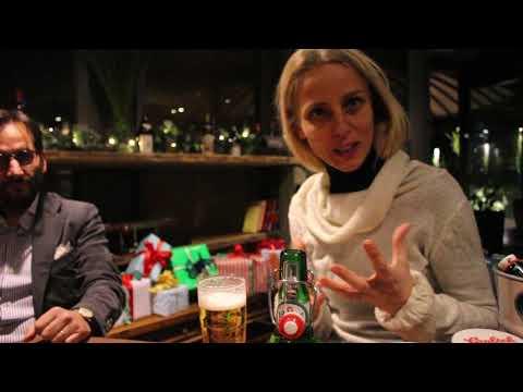 Silvia Porreca e Giuseppe Paniccia - birra Grolsh Lager 'Unconventinal by tradition' party