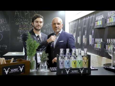 Davide Gregorini di Fonte Plose presenta linea Alpex a Hospitality 2020