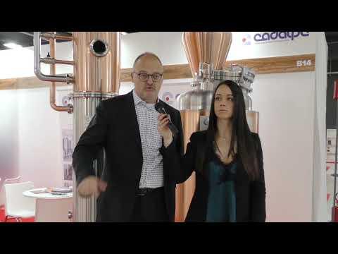 "Marco Pasqualotti di ""Cadalpe"" a Craft Beer Italy 2019"