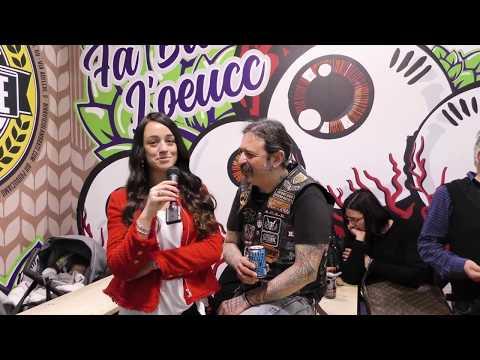 Giampaolo Sangiorgi del Birrificio Lambrate a Beer Attraction 2019