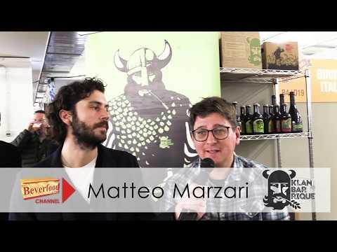 Matteo Marzari di Klanbarrique a Expo Riva Hotel 2019